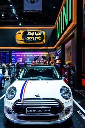 BANGKOK - MARCH 24 : Mini Hatch 3-Door on display at The 36th Bangkok International Motor Show
