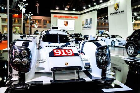 mori: BANGKOK - MARCH 24 : Porsche DMG MORI on display at The 36th Bangkok International Motor Show