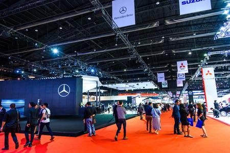 BANGKOK - MARCH 24 : The Exhibit Car at The 36th Bangkok International Motor Show
