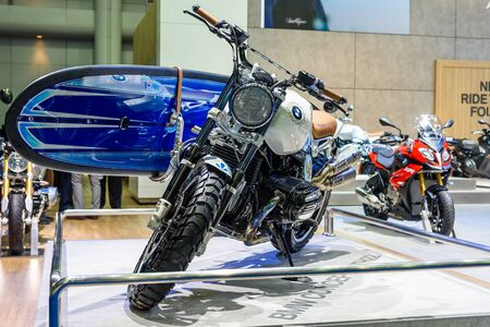 no boundaries: BANGKOK - MARCH 22 : BMW Concept path 22 on display at The 37th Bangkok International Motor Show : No Boundaries Mobility on March 22, 2016 in Bangkok, Thailand. Editorial
