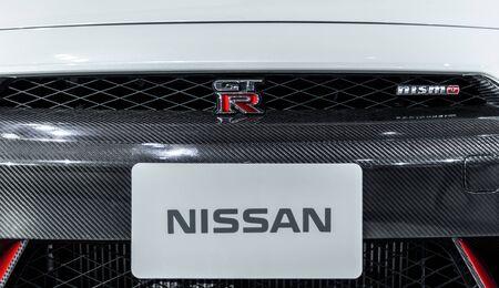 nissan: BANGKOK - MARCH 22 : Nissan 2016 GT-R NISMO Limited Availability on display at The 37th Bangkok International Motor Show : No Boundaries Mobility on March 22, 2016 in Bangkok, Thailand. Editorial