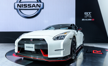 no boundaries: BANGKOK - MARCH 22 : Nissan 2016 GT-R NISMO Limited Availability on display at The 37th Bangkok International Motor Show : No Boundaries Mobility on March 22, 2016 in Bangkok, Thailand. Editorial