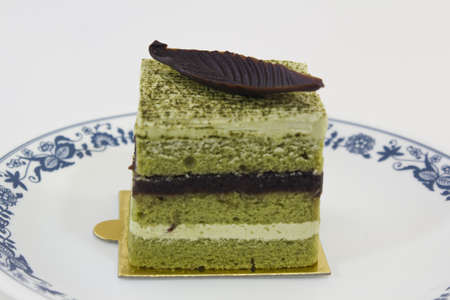 Greentea with Kidding Bean Cake