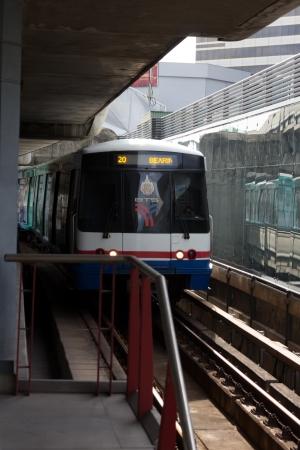 Sky train tren en Bangkok