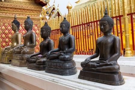 Phra ese Doi Suthep Temple chiangmai, Tailandia Foto de archivo