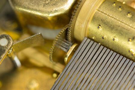 close up music box
