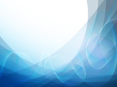 抽象的な波背景  イラスト・ベクター素材