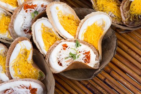 sweetmeat: kind of Thai sweetmeat calls kanom bueng