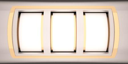 背景を表示する空白のスロット マシン