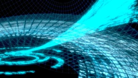 Ciencia abstracta o la tecnolog�a de fondo Foto de archivo