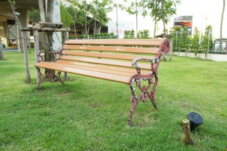 pubic: Relaxing chair in the pubic park