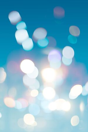 Blur image of light abstract background