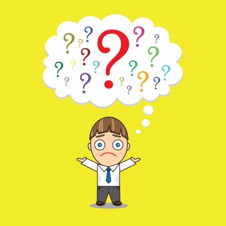 Questions Stock Vector - 14545311