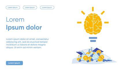 Vector Banner Classification Concept Bright Idea.