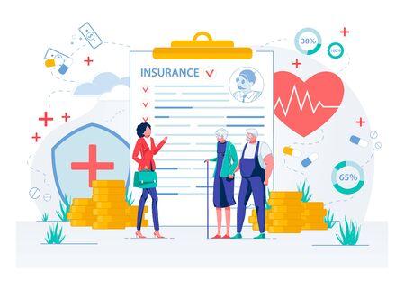 Healthcare Insurance for Elderly Senior People.