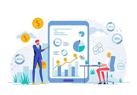 Online Business Training or Financial Seminar.
