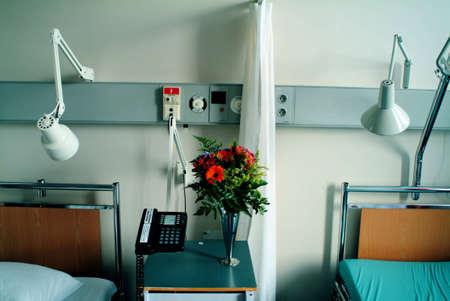 dullness: Hospital beds