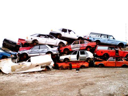 Dead cars Stock Photo