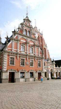 Old council in Riga, Latvia