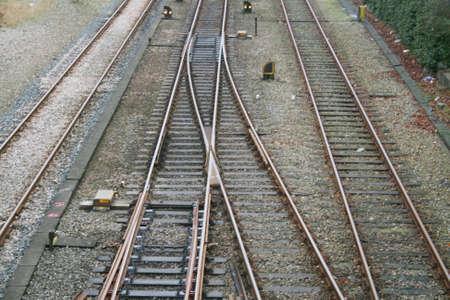 Railroad tracks photo