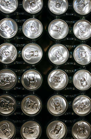 metal drink cans