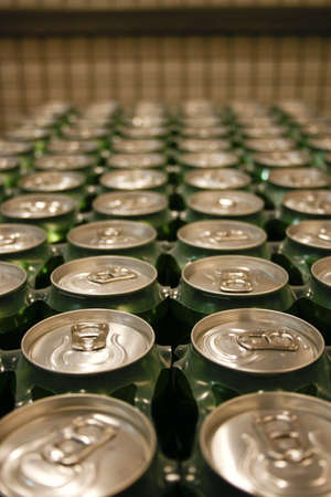 metall texture: metal drink cans
