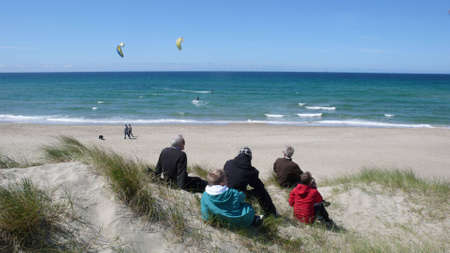 kiting: Wave kiting in the north sea