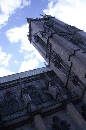 Gothic Nidarosdomen of Trondheim, Norway