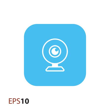 web: Web camera icon for web