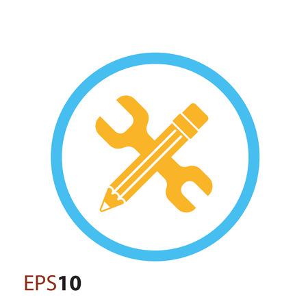 tweak: Minimalistic edit settings icon for web