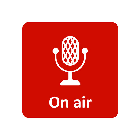 On air icon for web