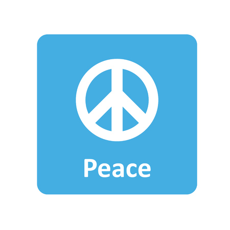 Peace icon for web and UI