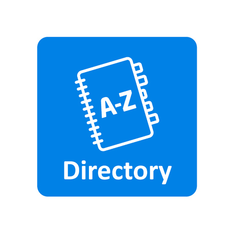 directory: Directory icon for web and UI Illustration