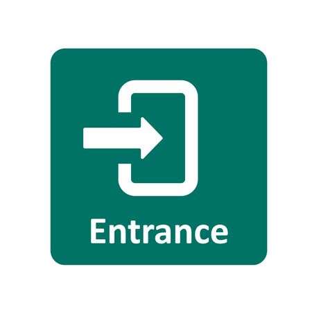 entrance: Entrance icon for web and UI
