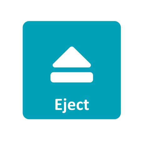 eject: Eject icon for web and UI Illustration