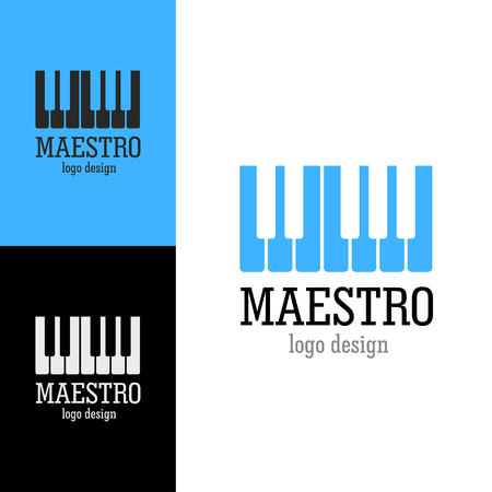maestro: design Maestro, vector art Illustration