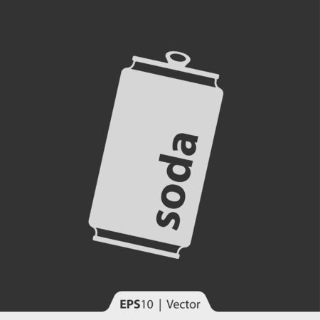 soda can: Soda can vector icon for web and print