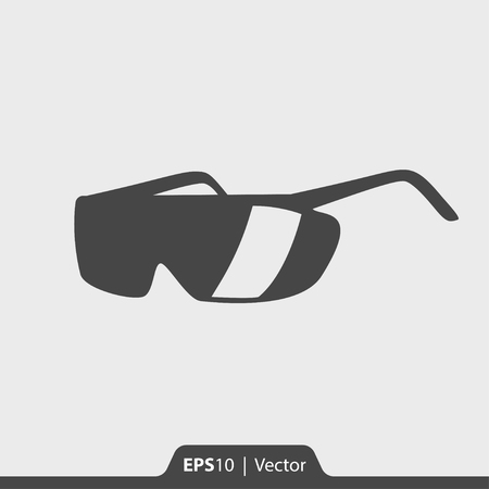 safety glasses: Safety glasses vector icon for web and print Illustration