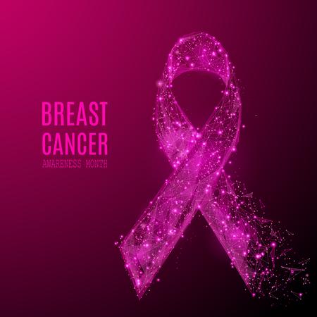 voorlichting van borstkanker Stock Illustratie