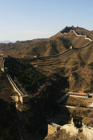 jinshanling: Great Wall of China - JinShanling Stock Photo