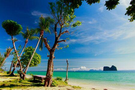 trang: Paradise beach in trang  thailand