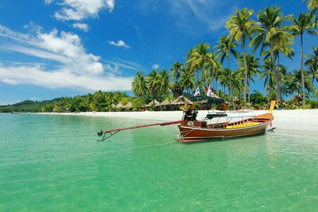 The boat to Koh samui island thailand