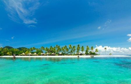mook: Paradise beach at koh mook island ,trang Thailand Stock Photo