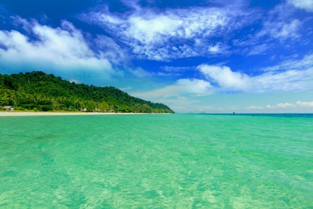 island paradise: Paradise beach at koh ngai island ,trang Thailand Stock Photo