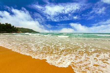 thailand beach: Paradise beach at kata beach ,phuket Thailand