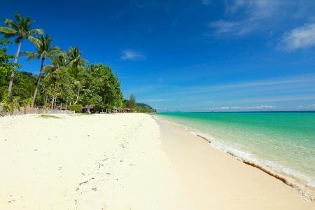 Paradise plage de la ville de trang, thaïlande