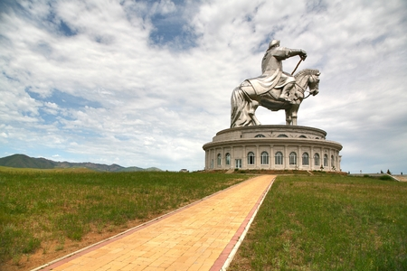 Genghis Khan Statue Complex is a 40-metre tall statue of Genghis Khan on horseback, at Tsonjin Boldogeast of the Mongolian capital Ulaanbaatar