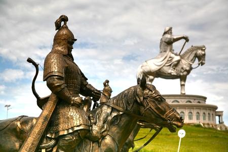 Genghis Khan Statue Complex is a 40-metre tall statue of Genghis Khan on horseback, at Tsonjin Boldogeast of the Mongolian capital Ulaanbaatar