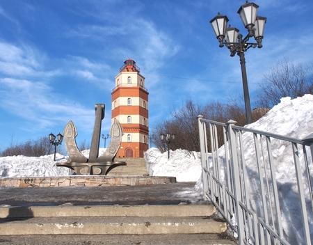 Church of the Savior in Murmansk city ,Russia