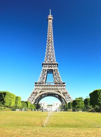 De mooie Eiffeltoren in Parijs, Frankrijk